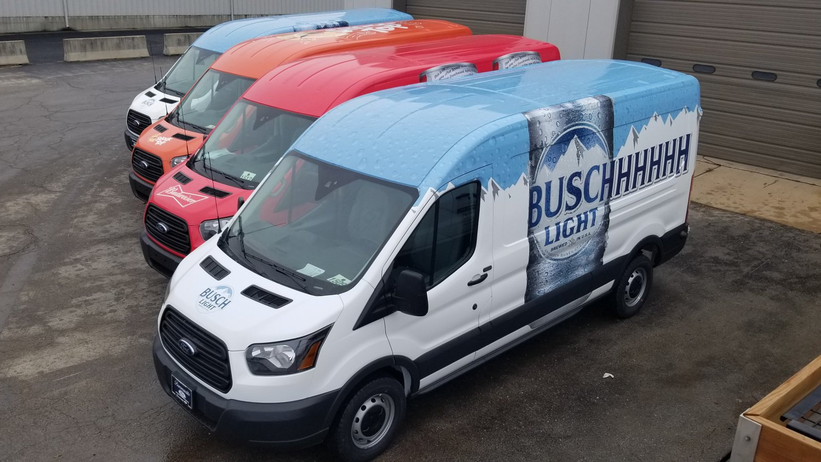 Commercial Vehicle Wraps: Do They Wrap The Roof?